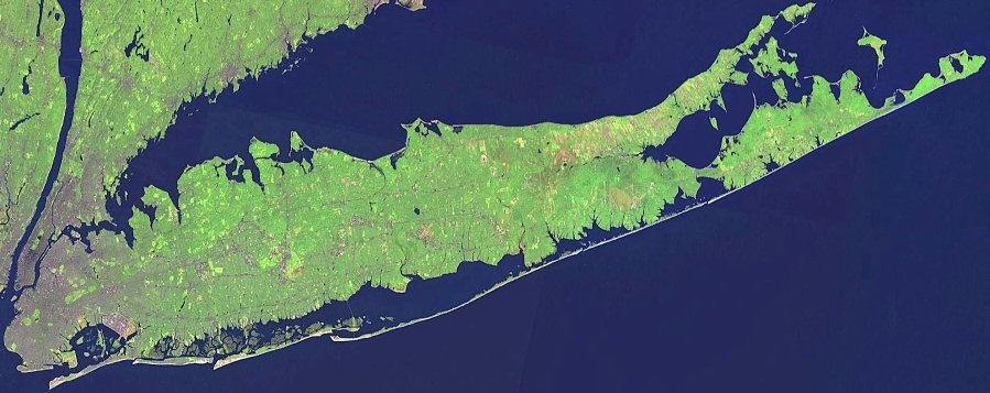 Long Island, NY - Satellite Photo